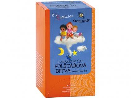 Bio Raráškův čaj - polštářová bitva porc. 20g dárkový (20sáčků)