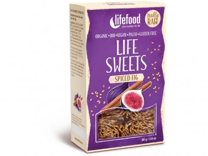 Bio Life sweets Perníkové s fíky 80g