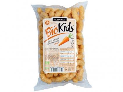 Bio Křupky kukuřičné mrkvové 55g