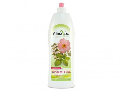 AlmaWin Na nádobí Divoká růže-Meduňka 1l