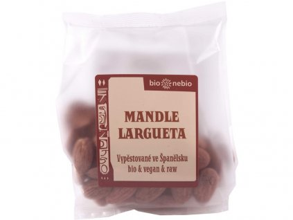 Bio mandle LARGUETA 100g