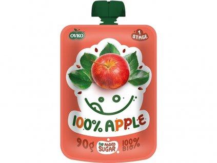 Bio kapsička 100% jablko OVKO 90g