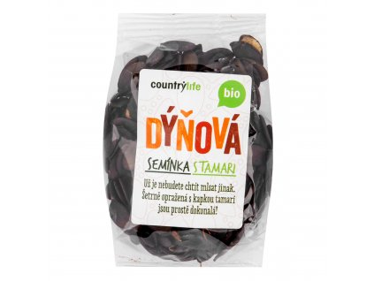 Dýňová semínka s tamari 100 g BIO COUNTRY LIFE