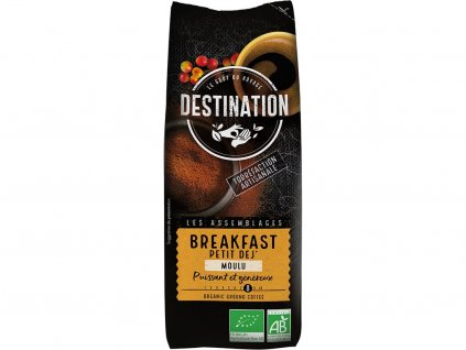 Bio káva mletá Breakfast Destination 250 g
