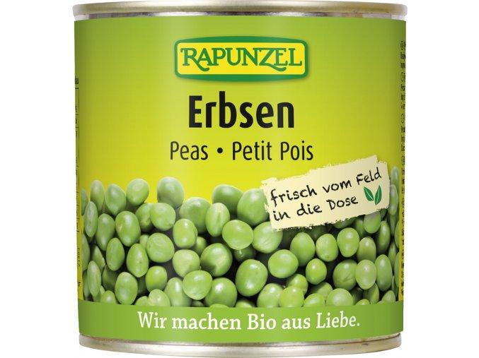 Bio hrášek sterilovaný RAPUNZEL 340 g