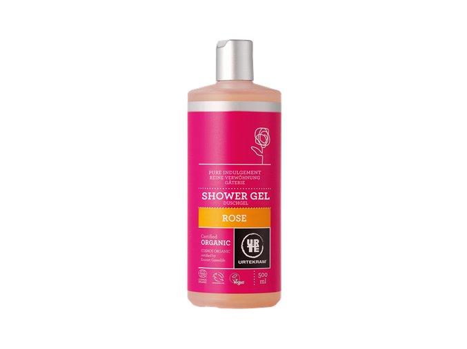 Urtekram Sprchový gel BIO růžový 500 ml