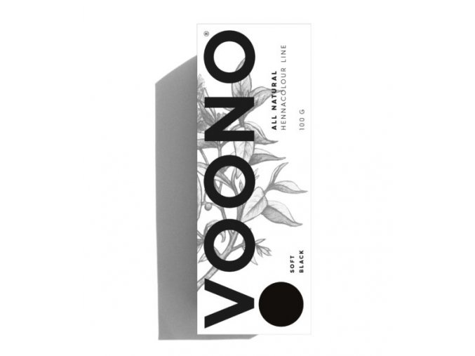 VOONO henna Soft black 100g
