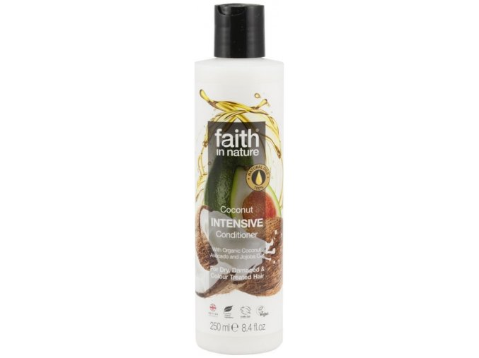 Faith in Nature kondicionér INTENSIVE BIO kokos 250 ml NEW