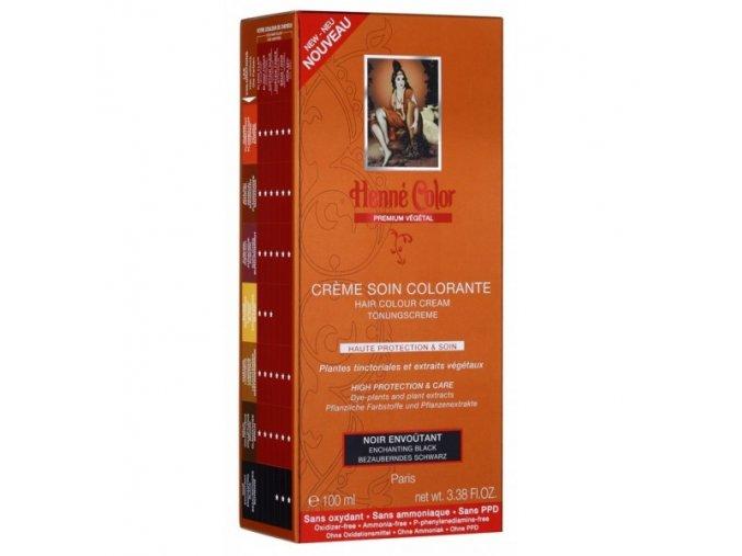 Henné Color - Barevný přeliv Okouzlující Černá Premium Végétal 100 ml