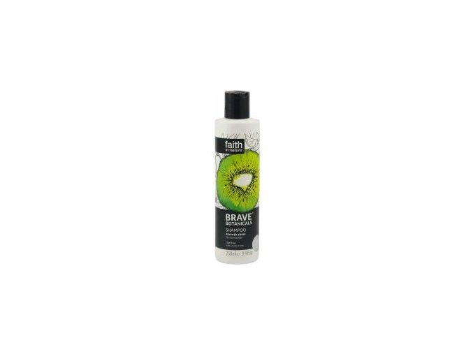 Faith in Nature BRAVE šampon pro větší lesk - Kiwi a Limeta 250 ml NEW
