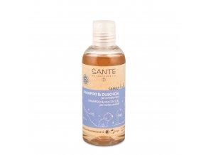 Šampon a sprchový gel pro děti s citlivou pokožkou BIO 200 ml Sante