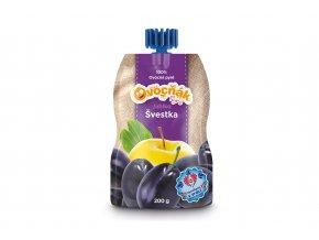 100% ovocné pyré Ovocňák jablko/švestka 200g