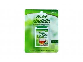 Stolní sladidlo na bázi steviol - glykosidů 150 tablet - Stevia 8g