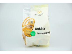 Dukáty brusinkové - Natural 200g