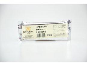 Chalva Izrael s ořechy - Natural 70g