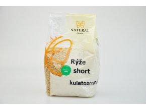 Rýže kulatozrnná short - Natural 500g