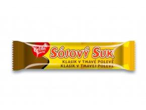 Sójový suk klasik v tmavé polevě - Soco 50g