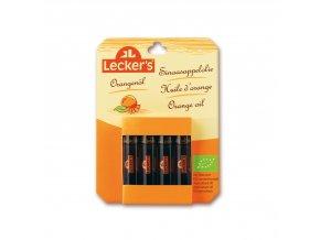 Pomerančové aroma BIO 4 x 2 ml Lecker´s