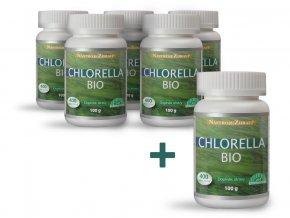 Bio Chlorella 100g, 400 tablet AKCE 5+1