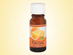 Vonný olej s vůní pomeranče