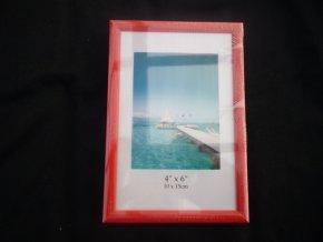 Fotorámeček 10x15cm červený R123B - AKCE