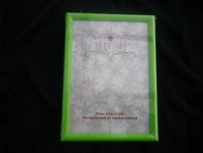 Fotorámeček 13x18cm zelený R124C - AKCE