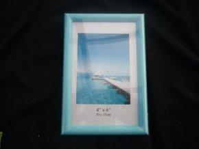 Fotorámeček 10x15cm modrý R124B - AKCE