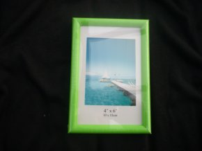 Fotorámeček 10x15cm zelený R124B - AKCE