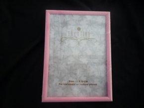 Fotorámeček 13x18cm růžový R123C - AKCE