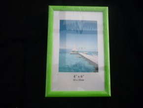 Fotorámeček 10x15cm zelený R123B - AKCE
