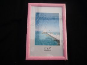 Fotorámeček 10x15cm růžový R123B - AKCE