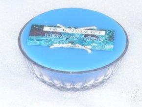 Interiérová svíčka miska 4-knotová - ledový vítr
