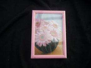 Fotorámeček 9x13cm růžový R123A - AKCE