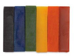 Barva do svíček oranžová - 100g