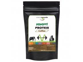 Sójový protein izolát Coffee 85 Cocowoods
