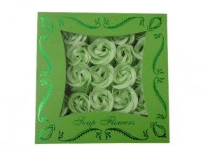Mýdlové konfety 25ks R143 zelená/zelená AKCE