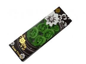 Mýdlové konfety 12ks R142 zelená AKCE