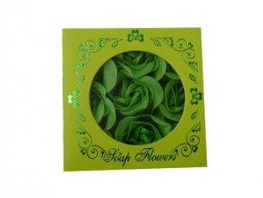 Mýdlové konfety 9ks R141 zelená AKCE