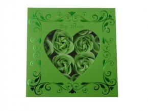 Mýdlové konfety 16ks R147 zeleno/zelená AKCE