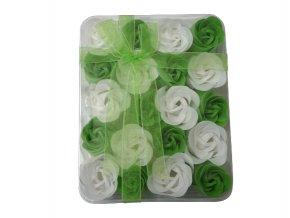 Mýdlové květy 20ks R138 zelená - AKCE