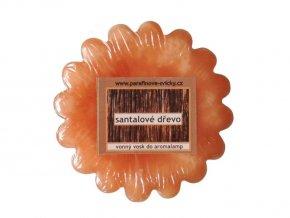 Vonný vosk do aromalamp - santalové dřevo
