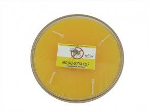 Repelentní svíčka miska 4knoty meduňka-divoká višeň