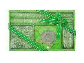 Vánoční dárková sada R87 zelená AKCE