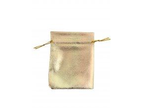 Organzový sáček zlatý 90x120mm č.14 AKCE