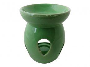 Aromalampa keramická AR12 zelená AKCE