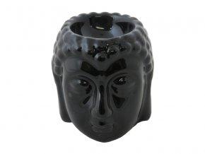 Aromalampa keramická AR14 černá AKCE