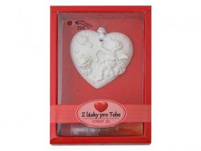 Keramický vonný jíl RENTEX valentýn z lásky pro tebe č.12