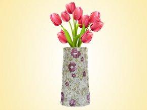 Skládací váza dekor č.02 AKCE