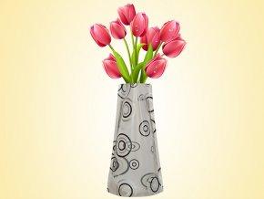Skládací váza dekor č.04 AKCE