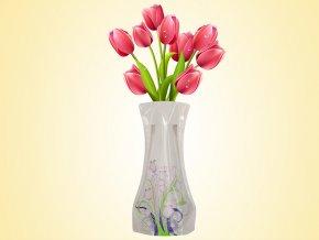 Skládací váza dekor č.10 AKCE